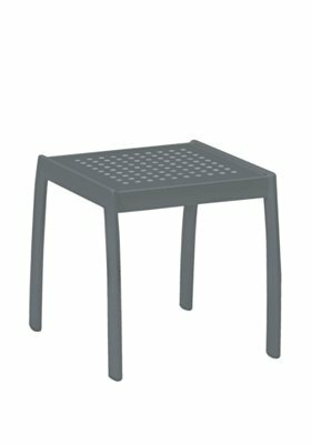 Boulevard Tea Aluminum Side Table by Tropitone
