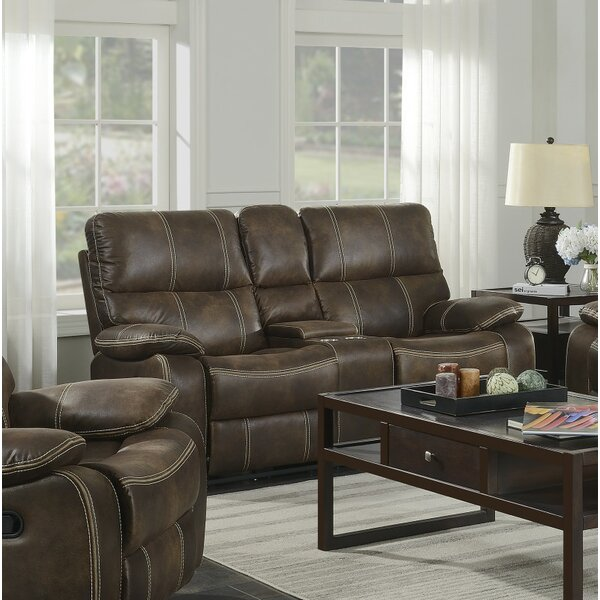 Diorio Reclining Loveseat by 17 Stories