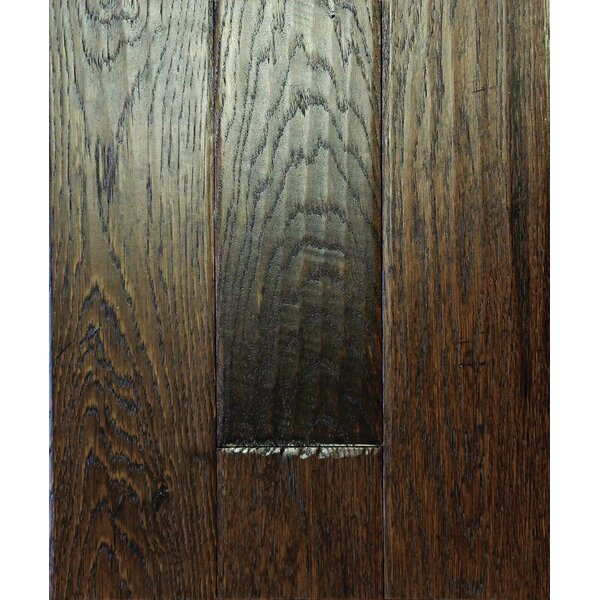 Smokehouse 4.75 Solid Oak Hardwood Flooring in Java by Albero Valley