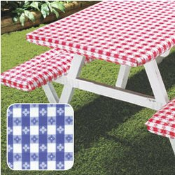 Deluxe Picnic Table Cover (Set of 3) by August Grove