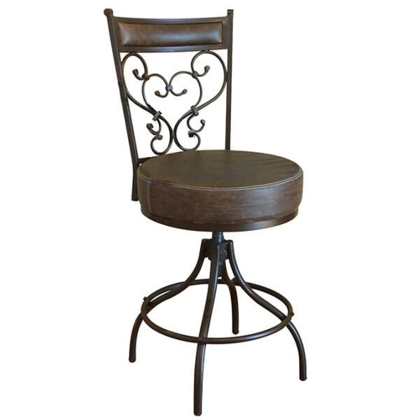 Cantina Adjustable Height Swivel Bar Stool by Artisan Home Furniture Artisan Home Furniture