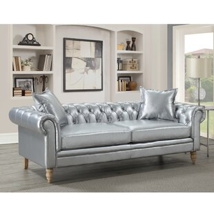 Lantz Button Tufted Chesterfield Sofa