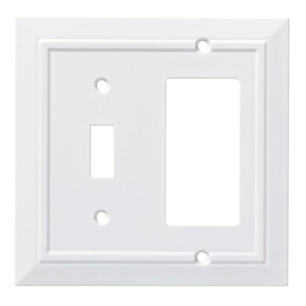 Classic Architecture Single Switch Decorator Wall Plate by Franklin Brass