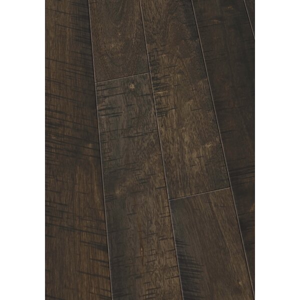 4 Solid Hevea Hardwood Flooring in Native Café by Maritime Hardwood Floors