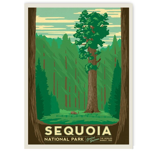 Sequoia Vintage Advertisement by East Urban Home