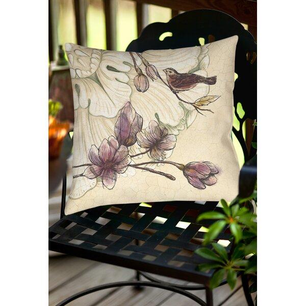 Phalangère Indoor/Outdoor Throw Pillow by Lark Manor