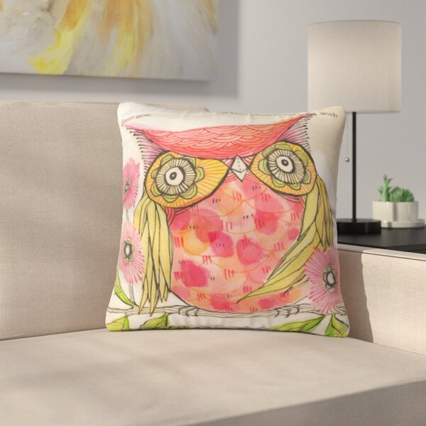 Miss Goldie Throw Pillow by East Urban Home