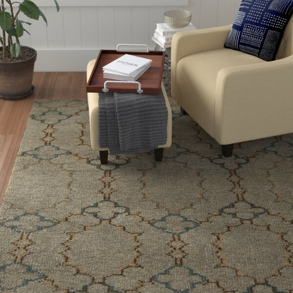 Conway Beige Rug by Winston Porter
