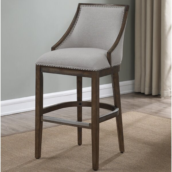 Sylvester 30 Bar Stool by Gracie Oaks