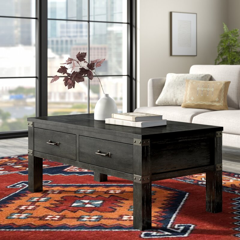 Union Rustic Kaitlin Coffee Table With