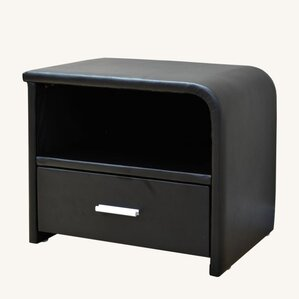 1 Drawer Nightstand by Greatime
