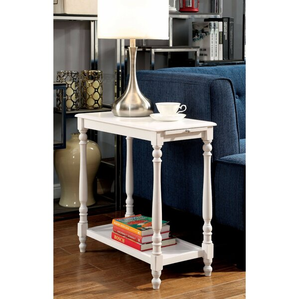 Fredrickson End Table With Storage By Highland Dunes Best #1