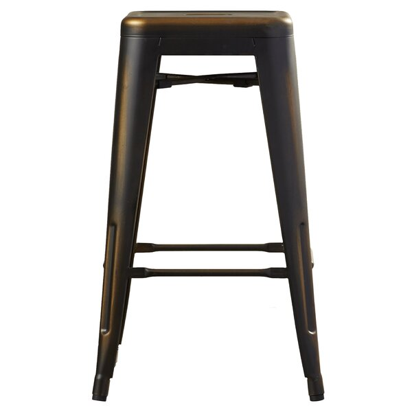 Isabel 26 Bar Stool (Set of 4) by Laurel Foundry Modern Farmhouse