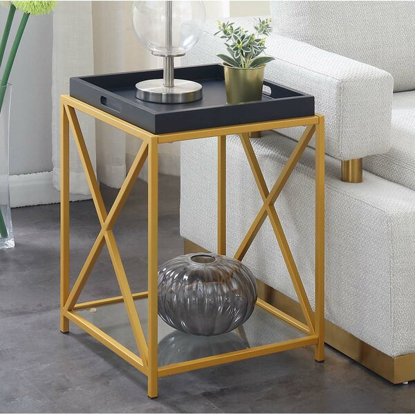 Gaspard Tray Table By Everly Quinn