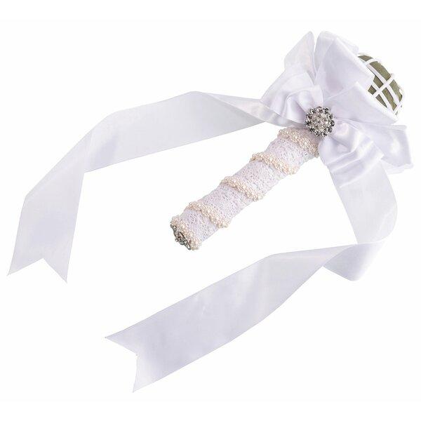 Satin Wedding Bouquet Holder by Lillian Rose