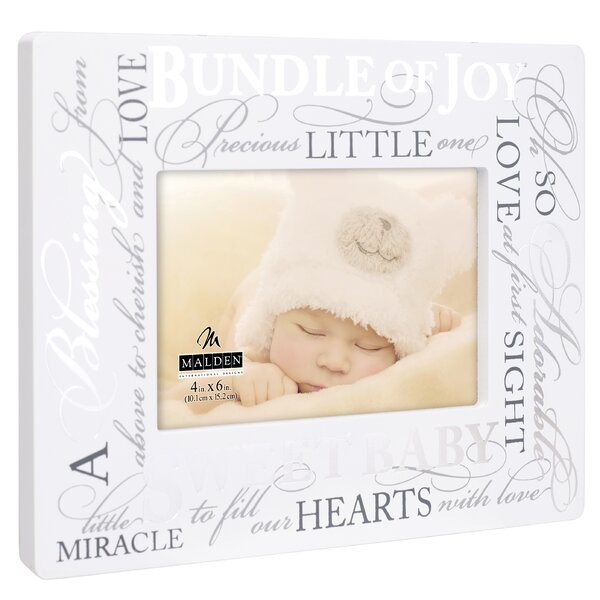 Donvers Sweet Baby Sign Picture Frame by Winston Porter