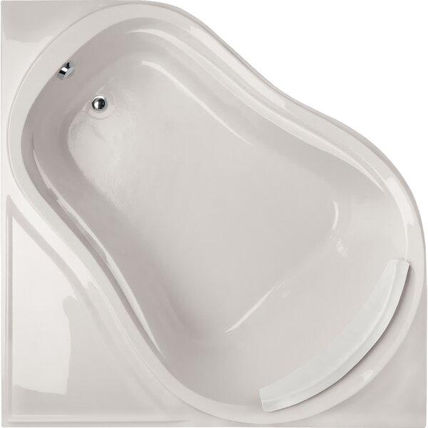 Designer Eclipse 64 x 64 Soaking Bathtub by Hydro Systems