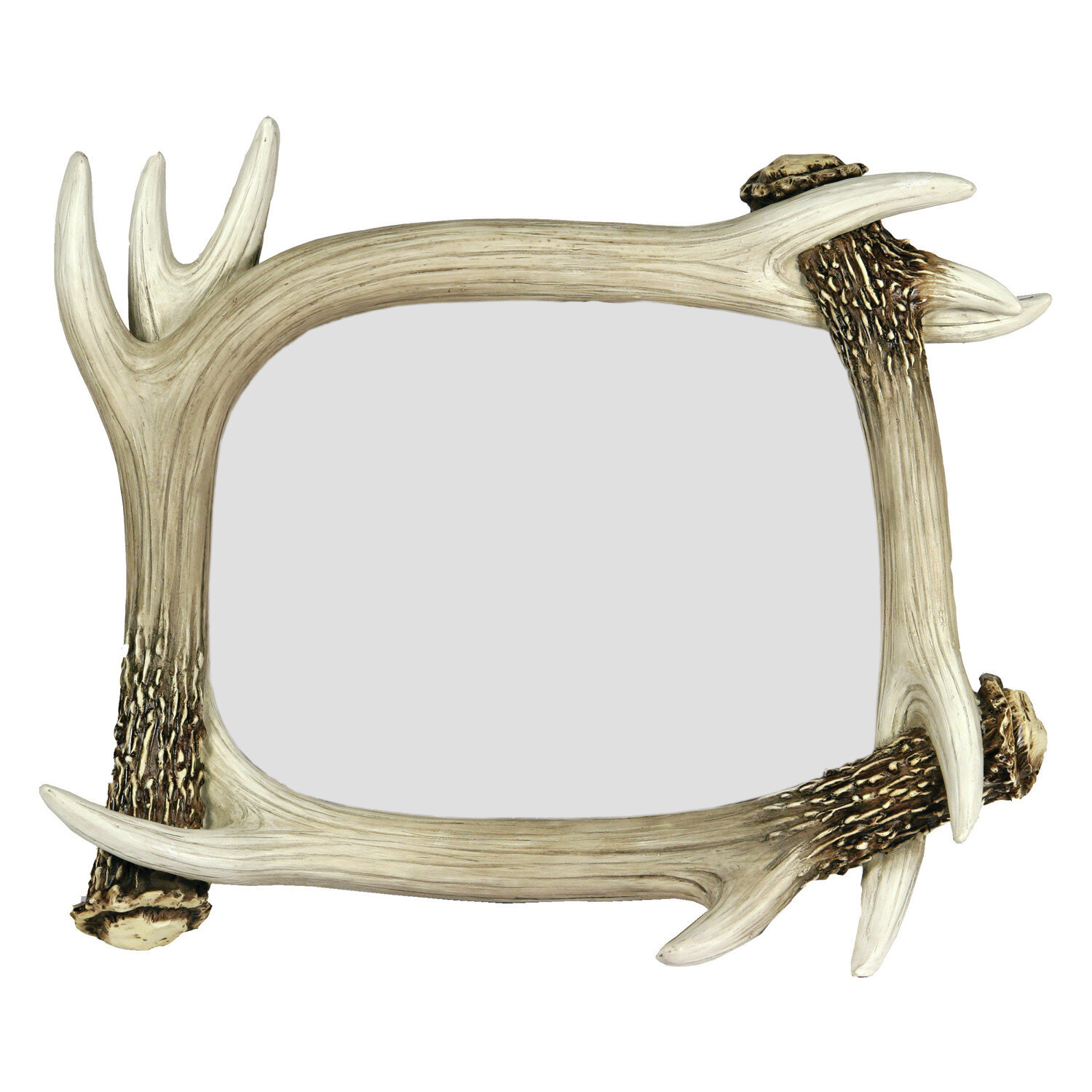 Rivers Edge Products Deer Antler Picture Frame Wayfair