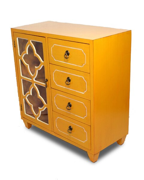 Rood 1 Door 4 Drawer Server by World Menagerie