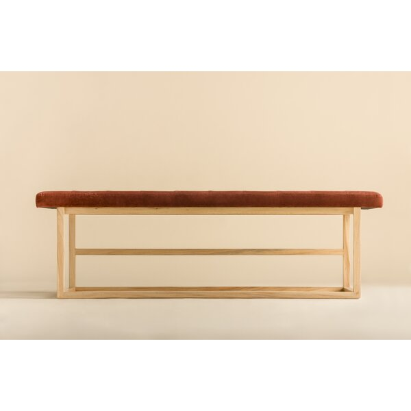 Tufted Upholstered Bench by Ebb and Flow Furniture