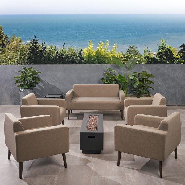 Breckenridge 7 Piece Sofa Seating Group with Cushions Brayden Studio W001174160