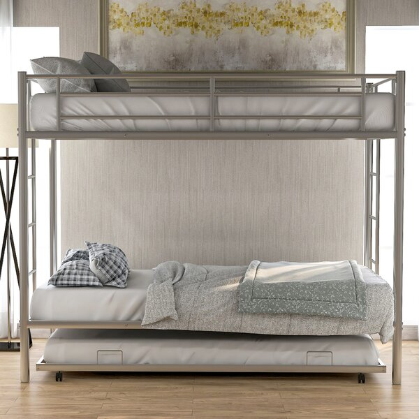 Keating Twin over Twin Bunk Bed with Trundle by Isabelle & Max