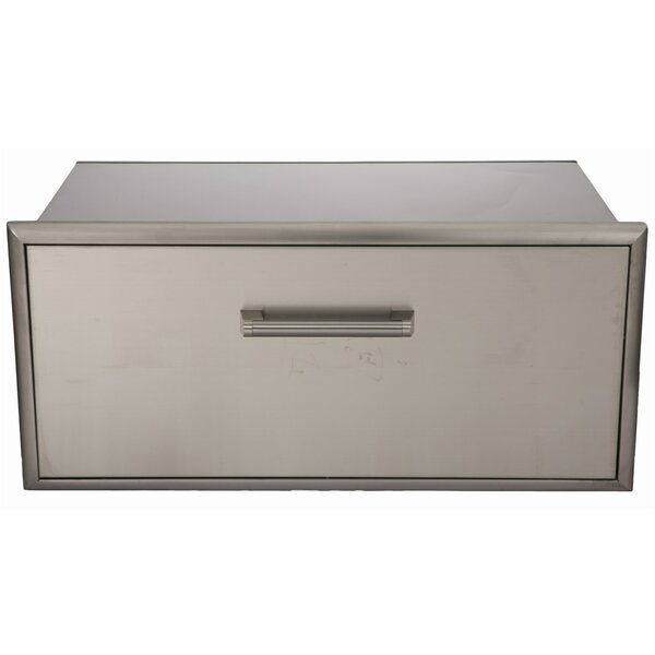 Stainless Single Storage Drawer by Coyote Grills