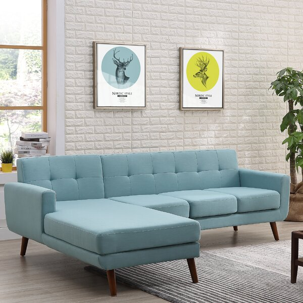 Barnet Mid Century Sectional by George Oliver
