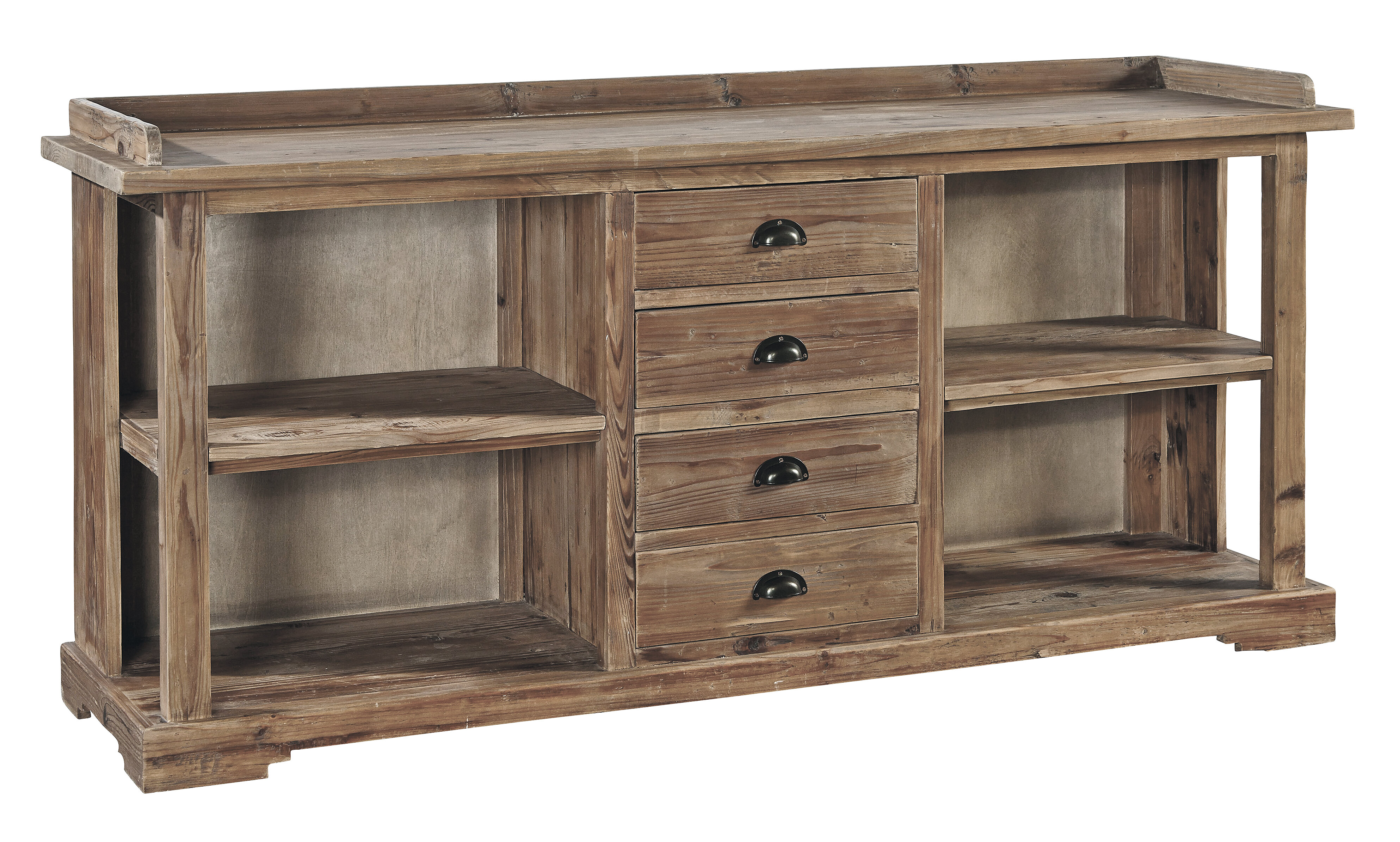 dining for wall end tables barnwood table white room units buffet gallery durango furniture chairs high