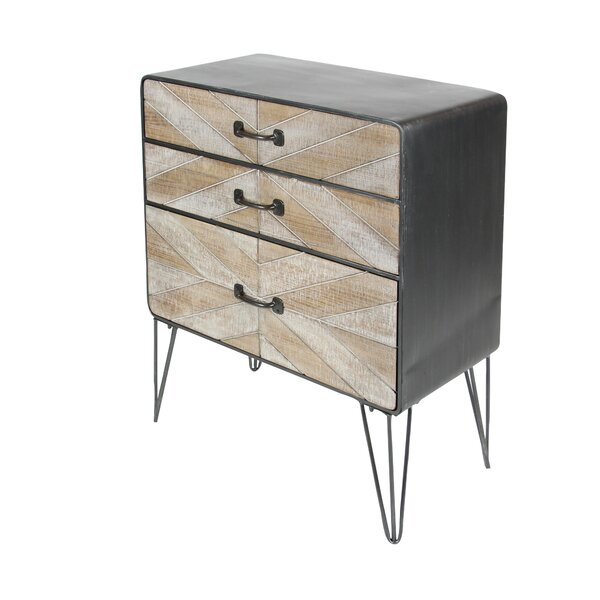 Vicini 3 Drawer Accent Chest by Union Rustic
