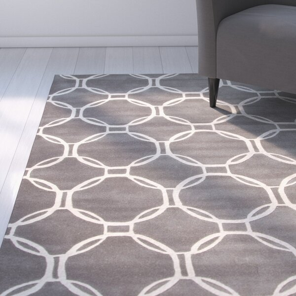 Mellie Gray/Ivory Rug by Zipcode Design