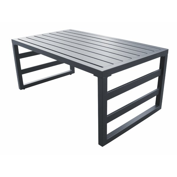 Judkins Aluminum Coffee Table by Wrought Studio