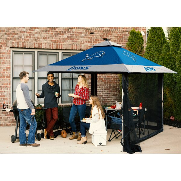 Pagoda 10 Ft. W x 10 Ft. D Steel Pop-Up Canopy by