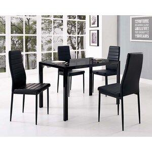 Essgruppe Kaela mit 4 Stühlen von Home & Haus