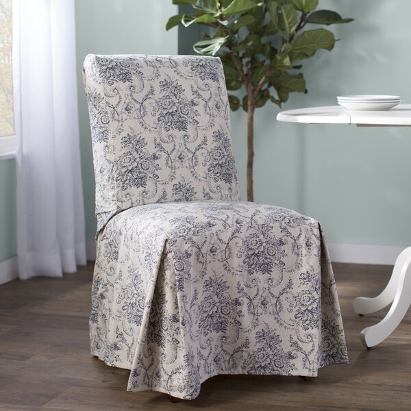 Box Cushion Dining Chair Slipcover by One Allium W