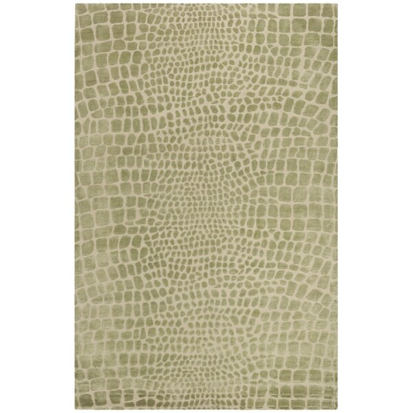 Amazonia Hand-Tufted Beige/Gray Area Rug by Safavieh