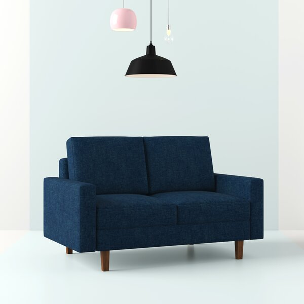 McKenly Modern Loveseat by Hashtag Home