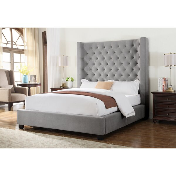 Granville Upholstered Standard Bed by Brayden Studio