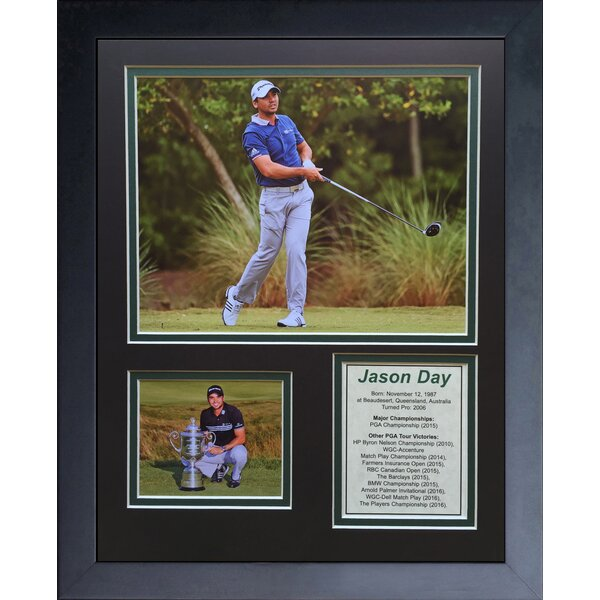 Jason Day Framed Memorabilia by Legends Never Die