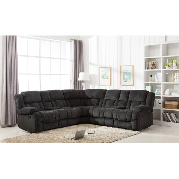 Concha Reclining Sectional by Red Barrel Studio