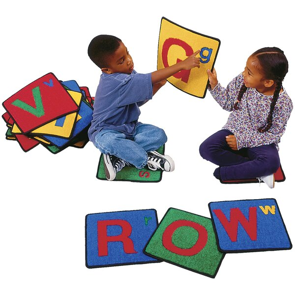 Carpet Kits Alphabet Block Area Rug by Carpets for Kids