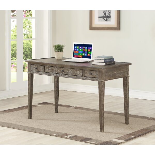 Affinia 3 Drawer Writing Desk by Millwood Pines