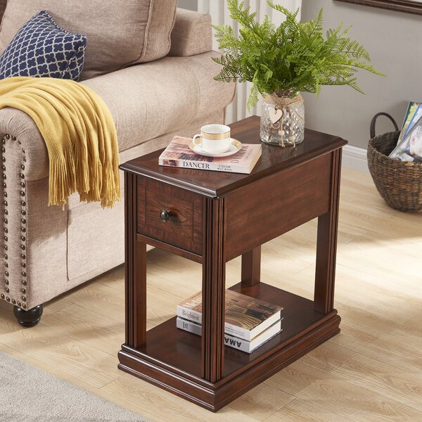 Rutledge End Table With Storage By Canora Grey