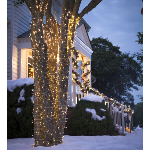 White LED 96 Light String Lights by Plow & Hearth