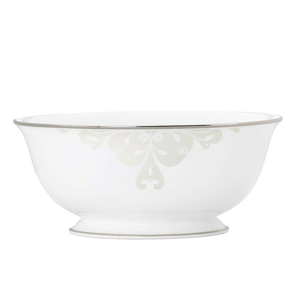 Opal Innocence Scroll Serving Bowl by Lenox