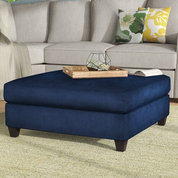 Simmons Upholstery Purcell Cocktail Ottoman by Ebern Designs