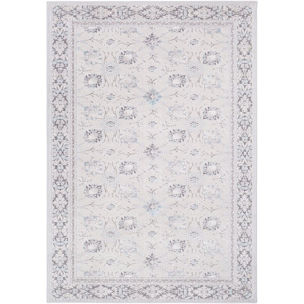 Hakon Gray Area Rug by Ophelia & Co.