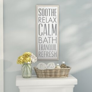 Bathroom Wall Decor You Ll Love Wayfair