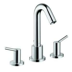 Talis S Two Handle Deck Mount Roman Tub Faucet by Hansgrohe