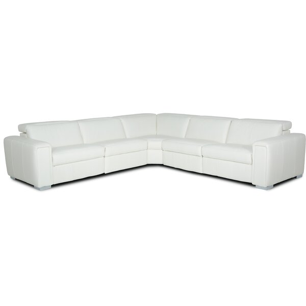 Lorenzo 5 Piece Symmetrical Reclining Sectional Set By Palliser Furniture